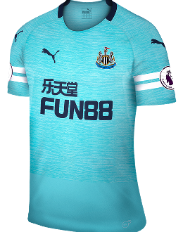 Newcastle third kit, 2018-19
