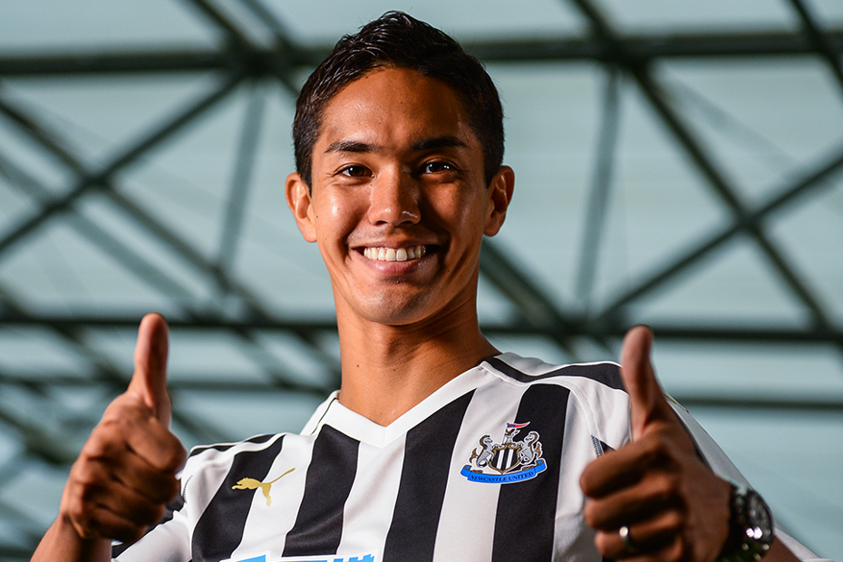 Yoshinori Muto, Newcastle United
