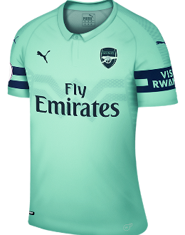 Arsenal third kit, 2018-19