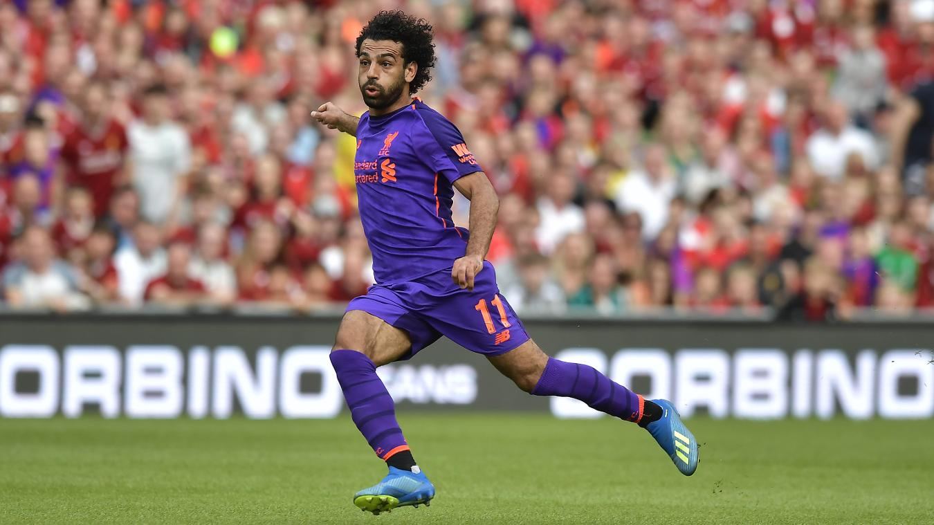 Mohamed Salah, Liverpool away kit