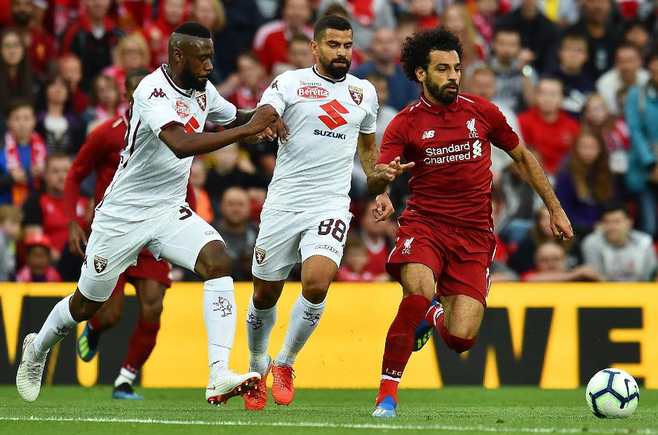 Mo Salah, Liverpool v Torino