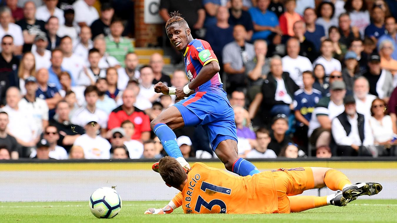 Crystal Palace v Liverpool, 20 August