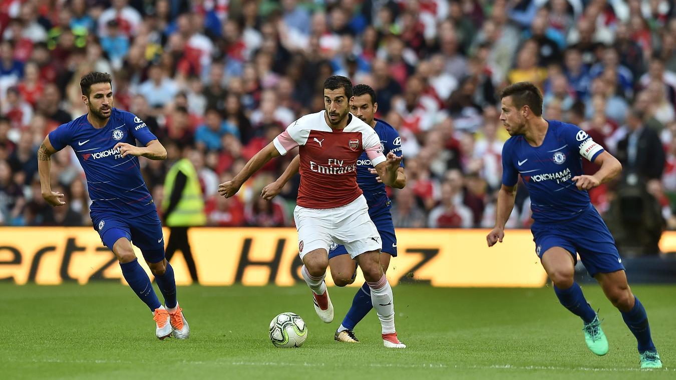 Chelsea v Arsenal, 18 August