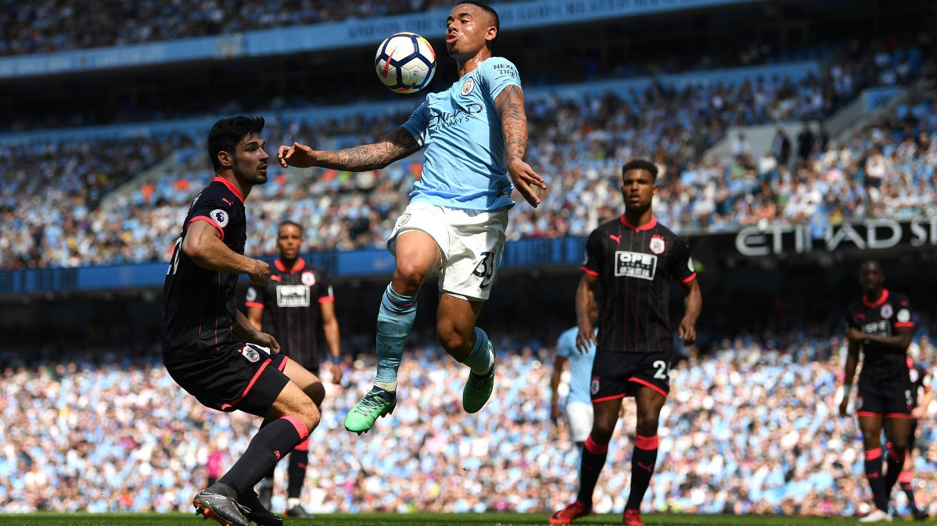Man City v Huddersfield Town, 19 August
