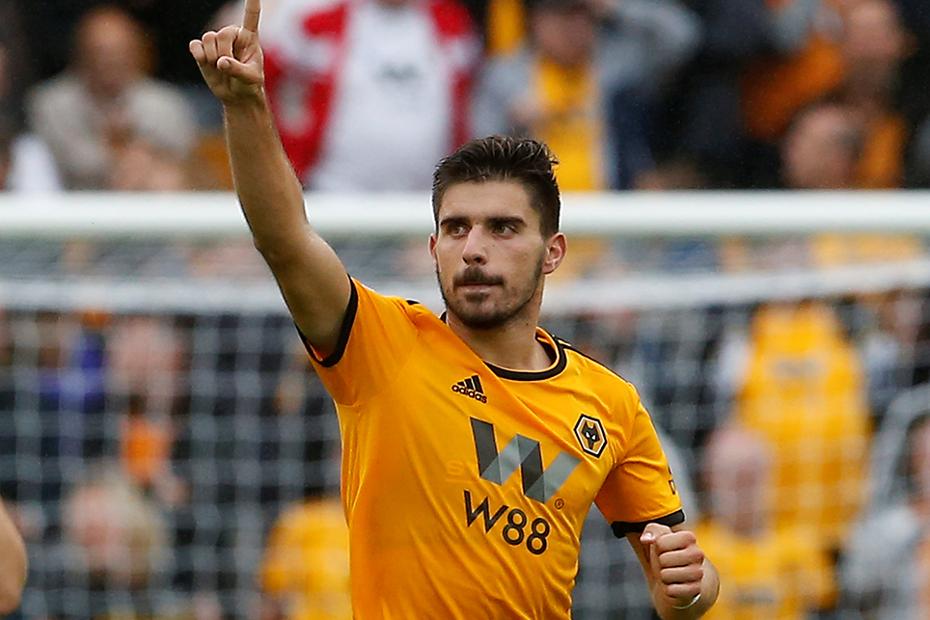 Ruben Neves, Wolves v Everton
