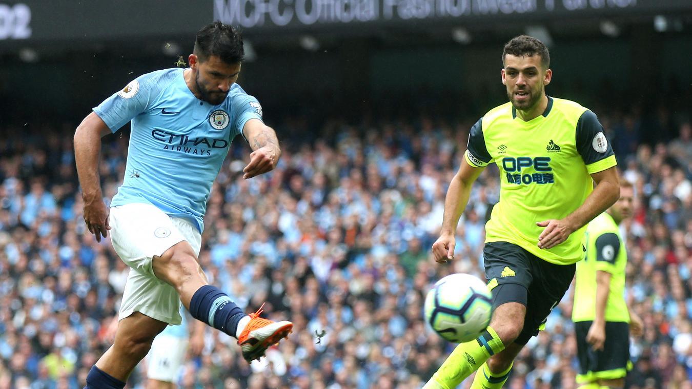Man City vs Huddersfield 6-1 Highlights and Goals Video