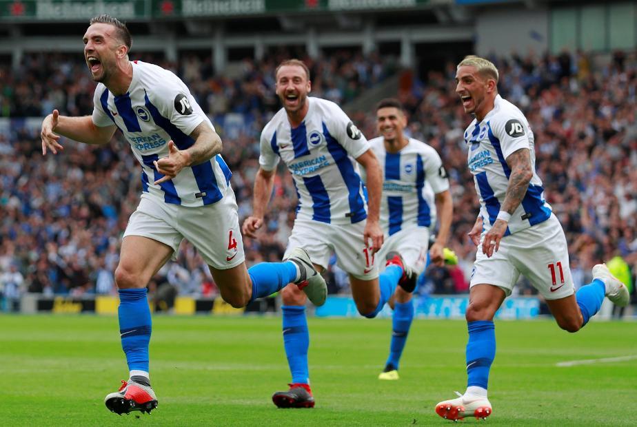 Brighton v Man Utd, Shane Duffy goal