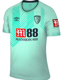 Bournemouth third kit, 2018-19