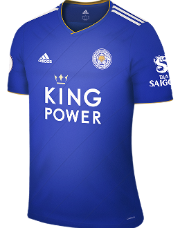 Leicester home kit, 2018-19