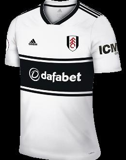Fulham home kit, 2018-19