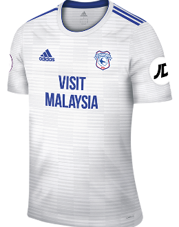 Cardiff away kit, 2018-19