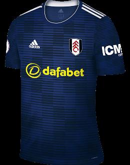 Fulham away kit, 2018-19