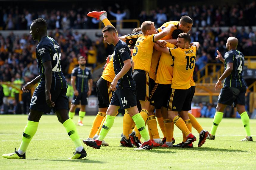 Wolverhampton Wanderers v Manchester City