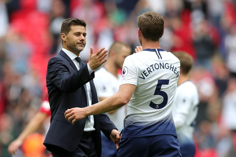 Mauricio Pochettino and Jan Vertonghen