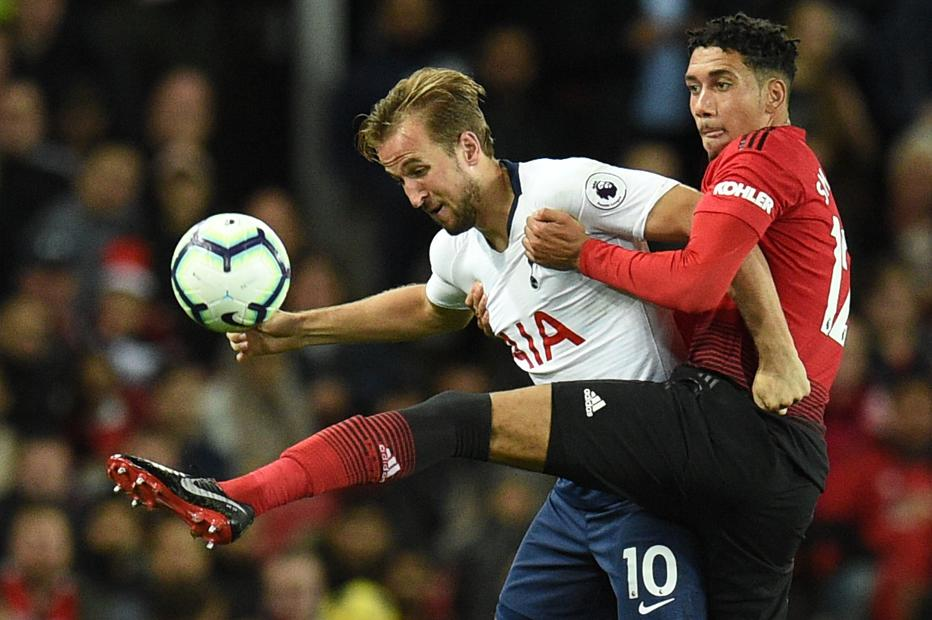 Harry Kane and Chris Smalling