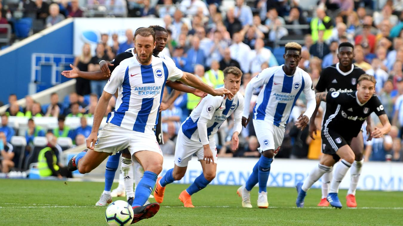 Video Brighton and Hove Albion vs Fulham 2-2 Highlights and Goals
