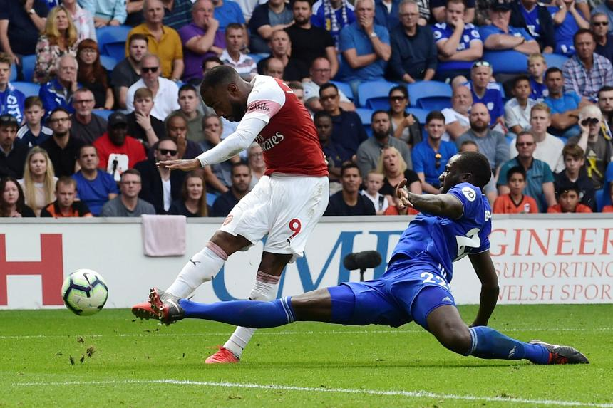 Cardiff City 2-3 Arsenal