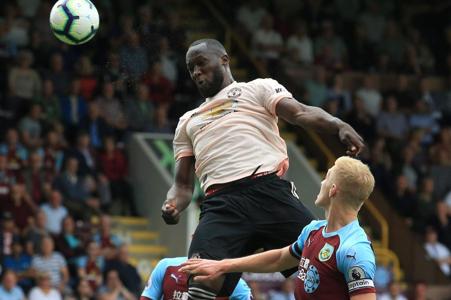 Burnley v Man Utd, Romelu Lukaku goal