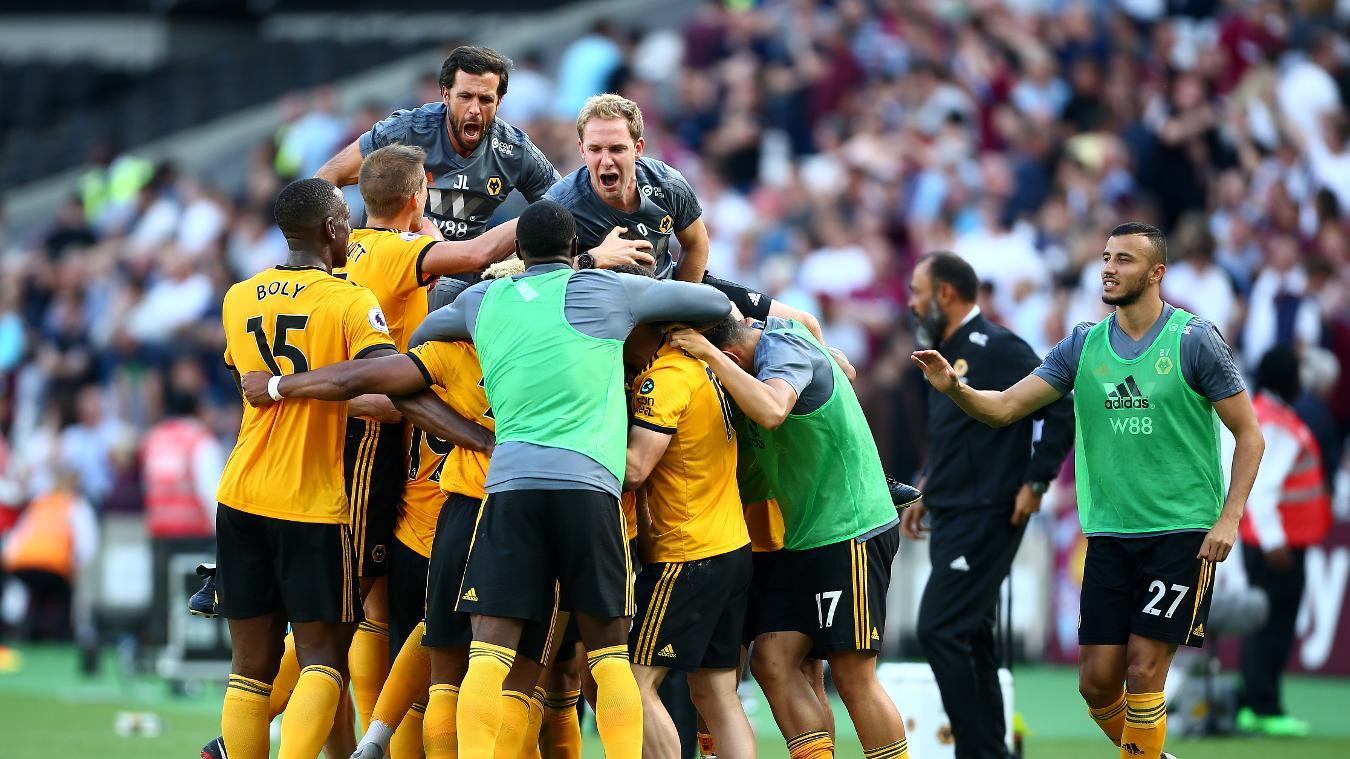 West Ham United 0-1 Wolverhampton Wanderers