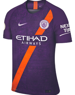 Man City third kit, 2018-19