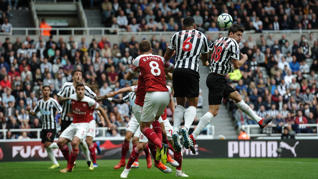 newcastle united 1-2 arsenal highlights