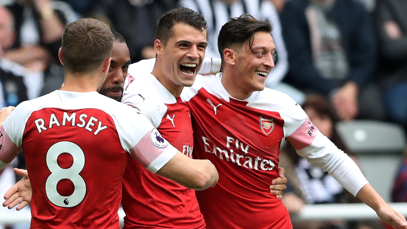 Newcastle United 1-2 Arsenal