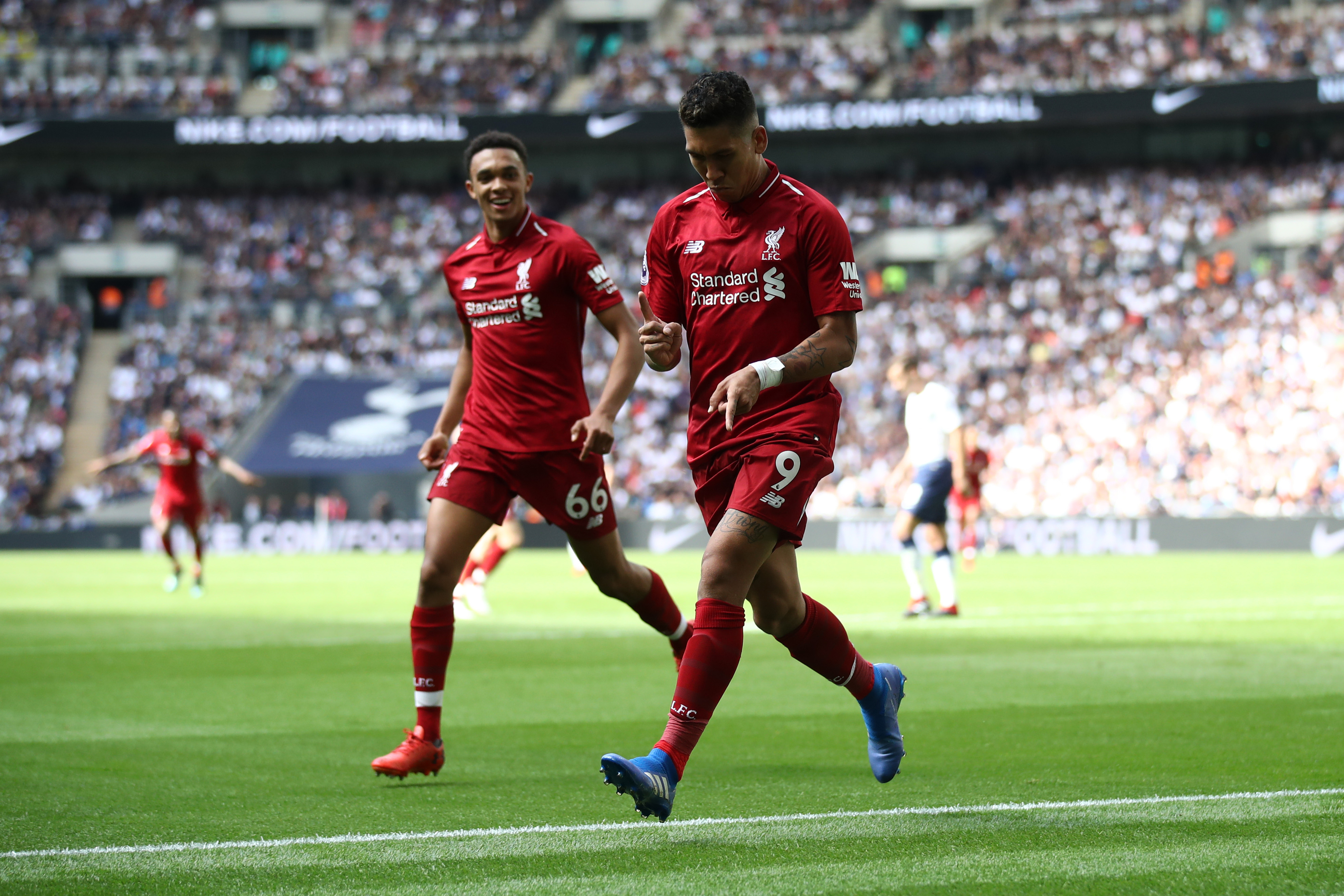 Liverpool extend perfect start with win at Spurs
