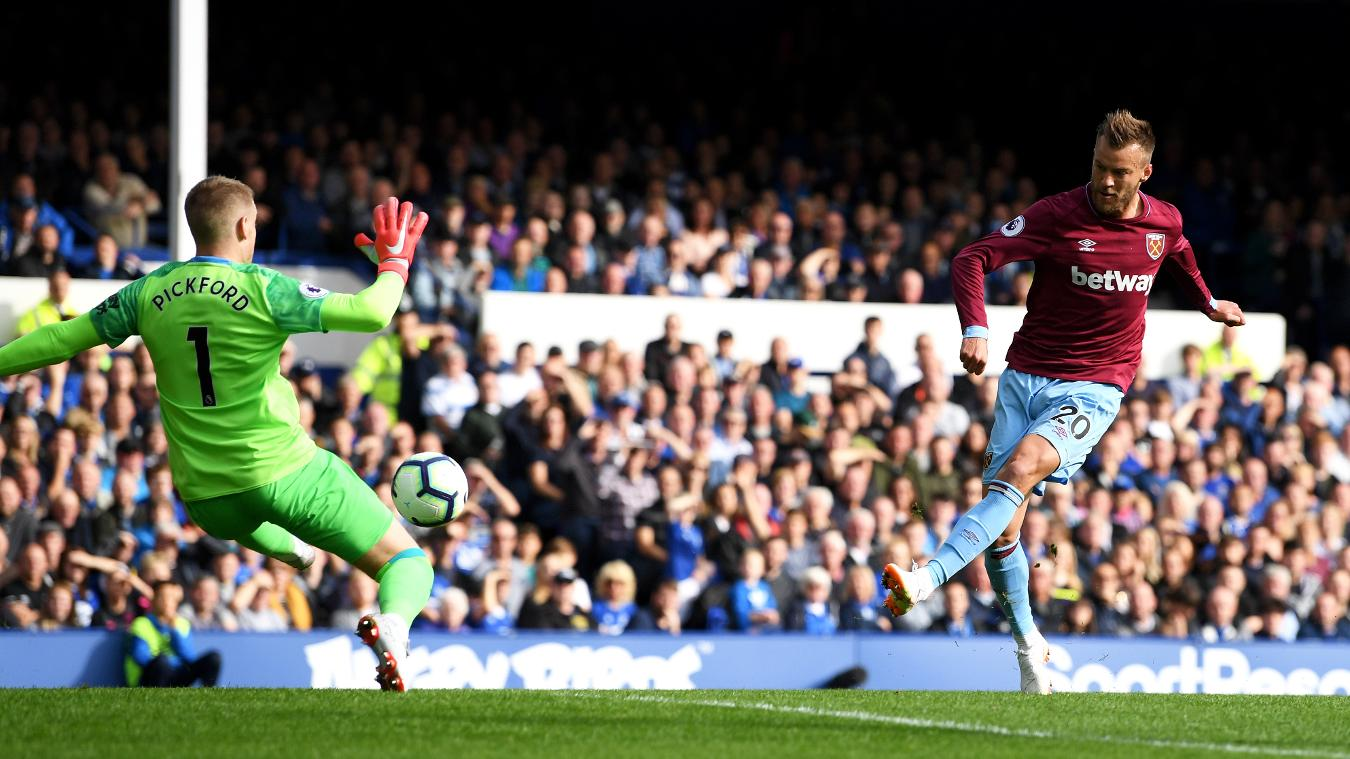 Everton 1-3 West Ham Highlights and Goals Video