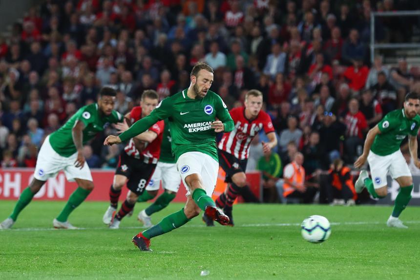 Southampton v Brighton & Hove Albion