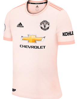 Man Utd away kit, 2018-19