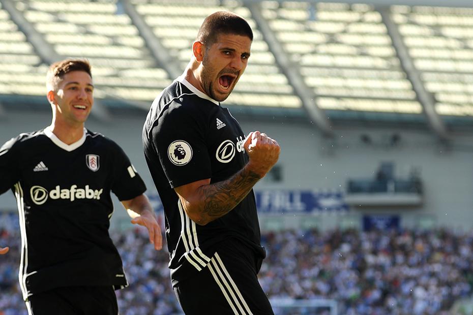 Aleksandar Mitrovic, Fulham v Brighton