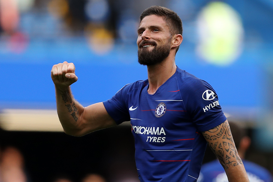 competitive price 0455f 83e3d GW6 Differentials: Olivier Giroud