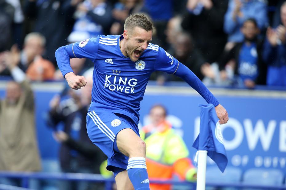 Leicester City v Huddersfield Town, Jamie Vardy