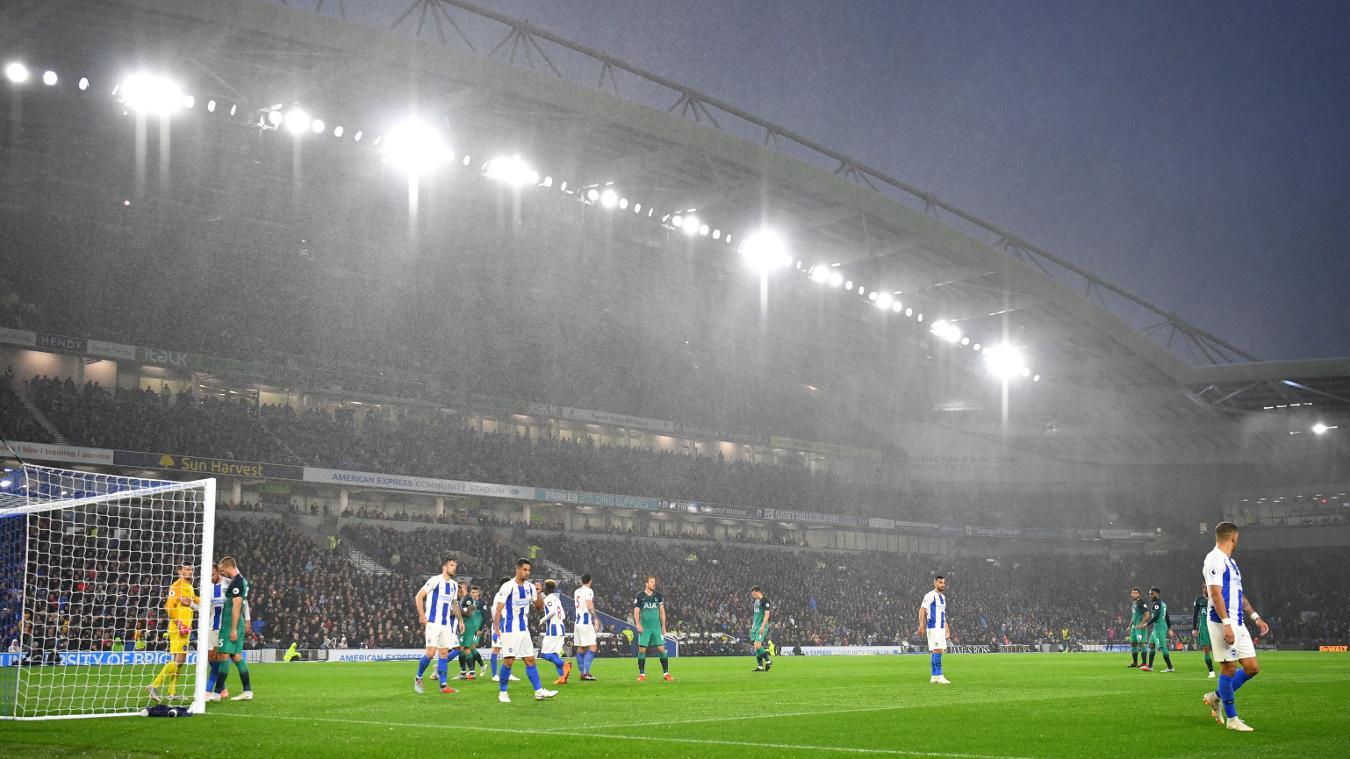 Brighton & Hove Albion 1-2 Tottenham Hotspur