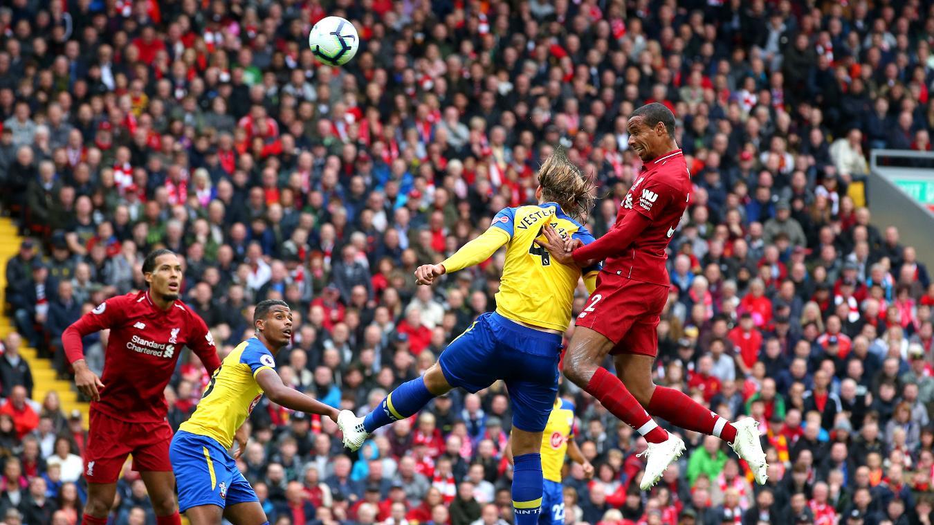 Liverpool 3-0 Southampton