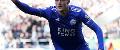Jamie Vardy, Leicester City goal v Newcastle