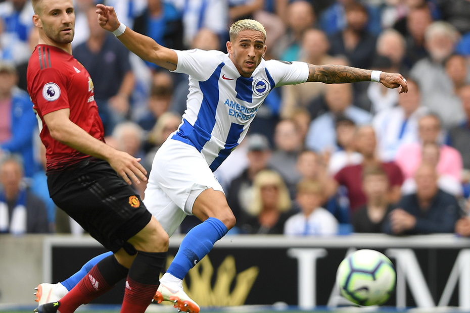 Anthony Knockaert, Brighton v Man Utd