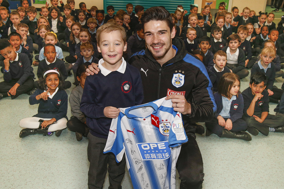 William, Huddersfield Town, PL Writing Stars