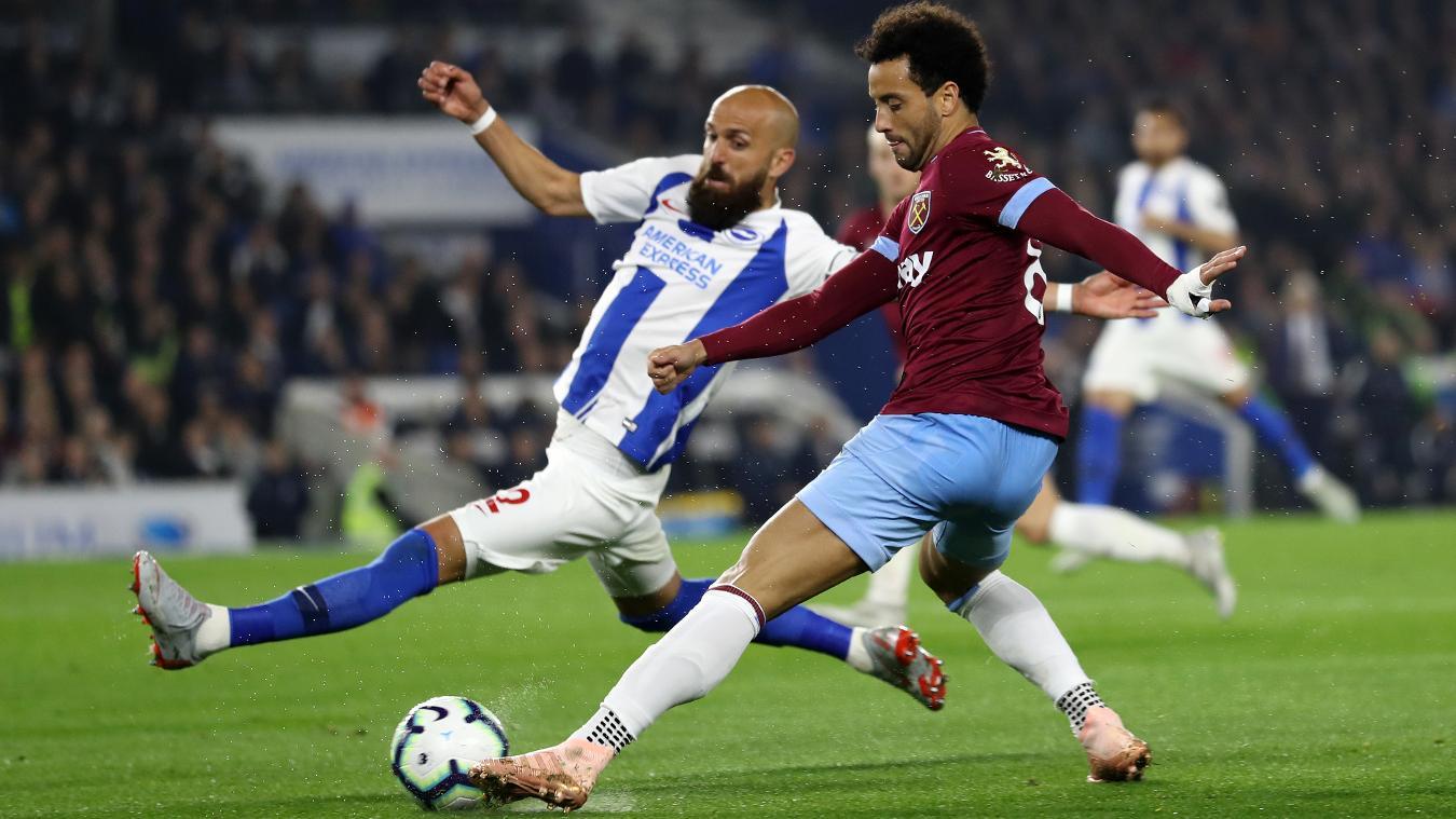 Brighton & Hove Albion 1-0 West Ham United
