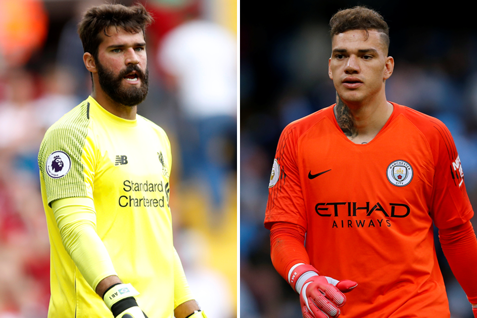 Alisson and Ederson level in battle for Golden Glove