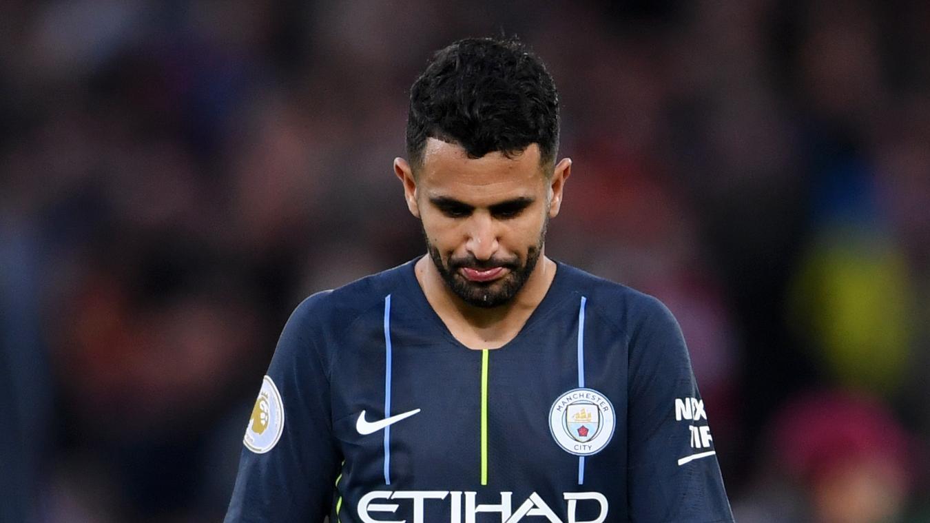 Zklamaný Mahríz po neproměněné penaltě
