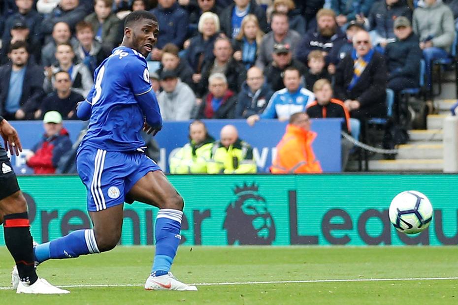 Kelechi Iheanacho, Leicester City v AFC Bournemouth