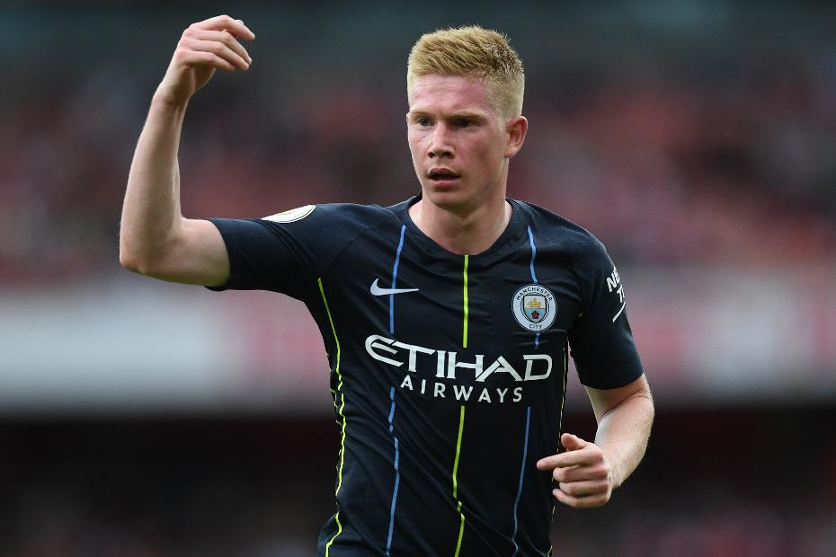Kevin De Bruyne, Arsenal v Man City