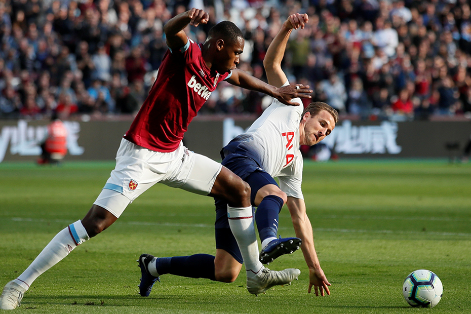 Issa Diop, West Ham v Spurs