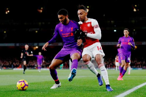 Arsenal v Liverpool, 2018/19 | Premier League