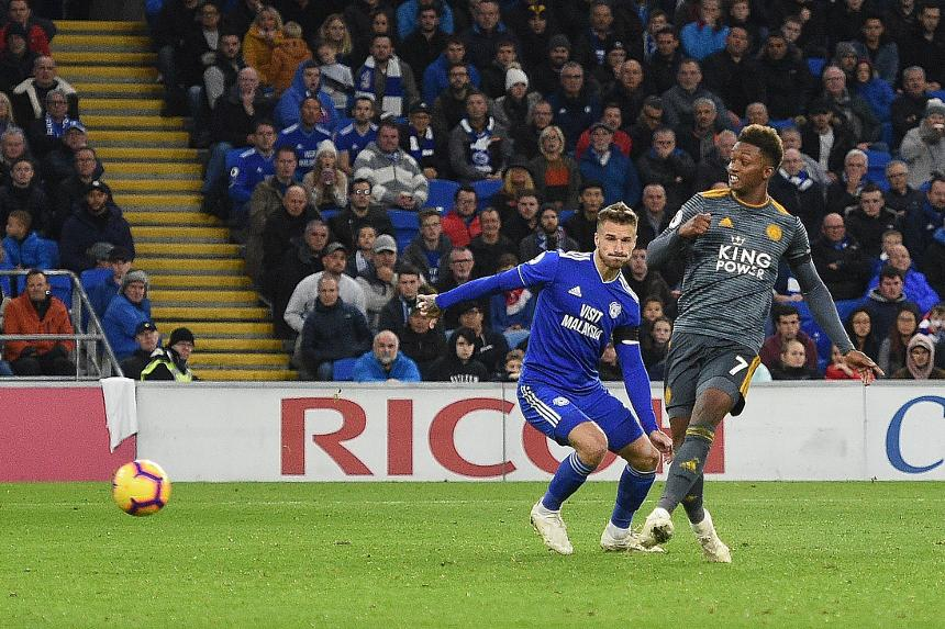 Cardiff City v Leicester City