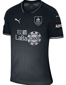 Burnley away kit, 2018-19