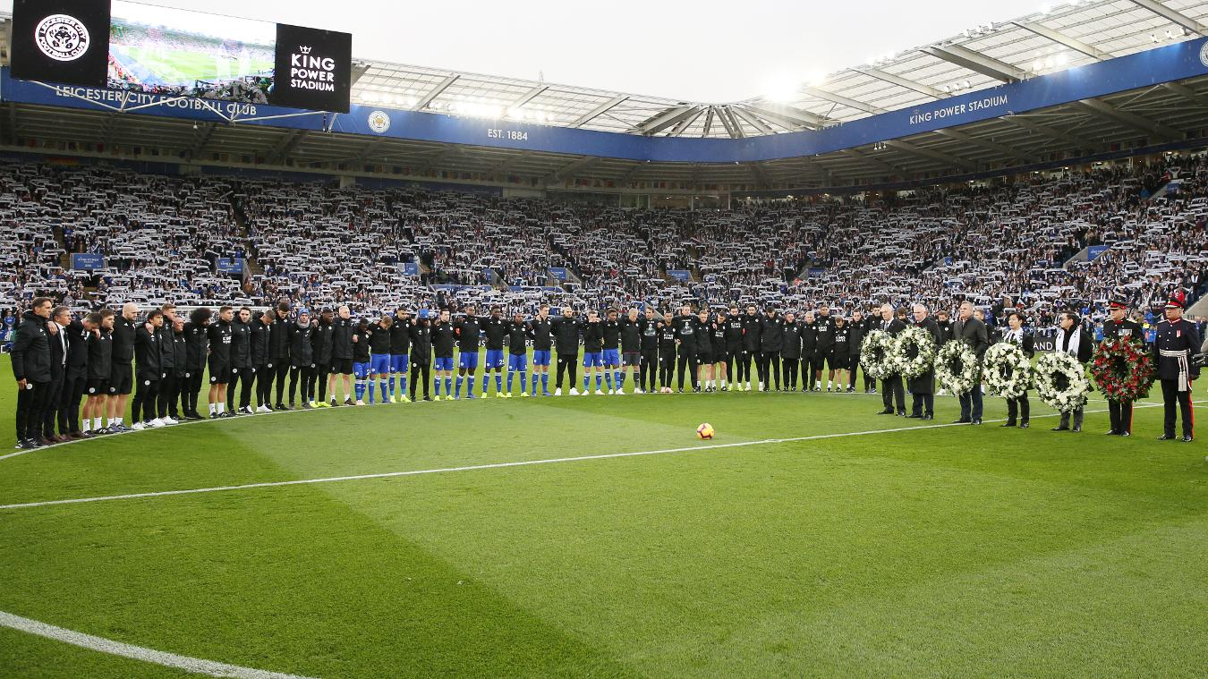 Leicester City pay tribute to Vichai Srivaddhanaprabha