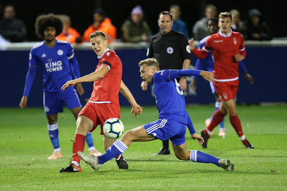 Leicester City in PL Cup action against Nottingham Forest