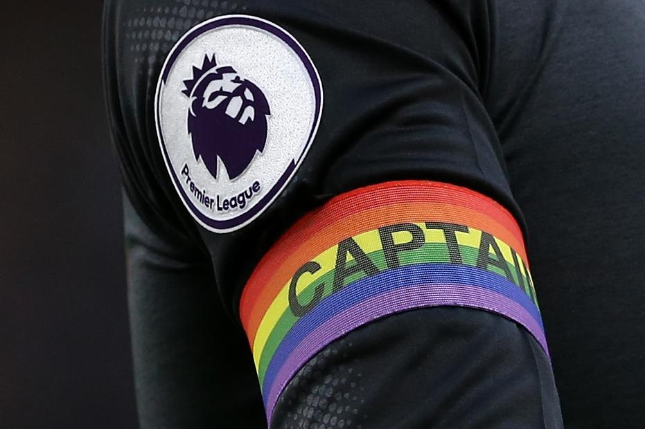 Rainbow Laces Captain armband